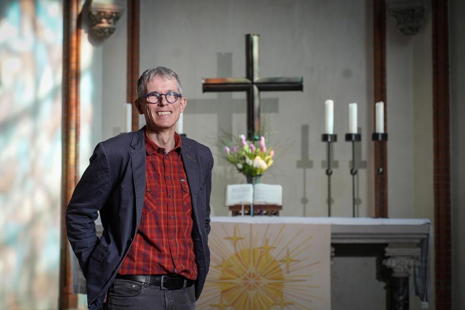 Seit Herbst 2019 ist Tilmann Popp Superintendent im Kirchenbezirk Bautzen-Kamenz. Ein normales Osterfest in diesem Amt hat er noch nicht erlebt.