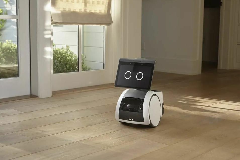 So sieht der Roboter aus.