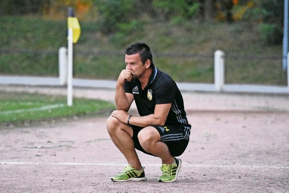 Thomas Kupper war Spieler, Trainer und Jahrhundertfußballer in Döbeln. Jetzt ist er beim Großenhainer FV in der Landesliga erfolgreich.