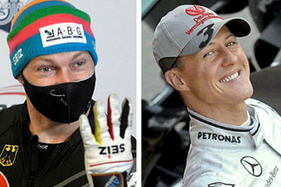 Der Bobpilot Francesco Friedrich aus Pirna vergleicht sich und seinen Antrieb, immer besser zu werden, mit Formel-1-Ikone Michael Schumacher.