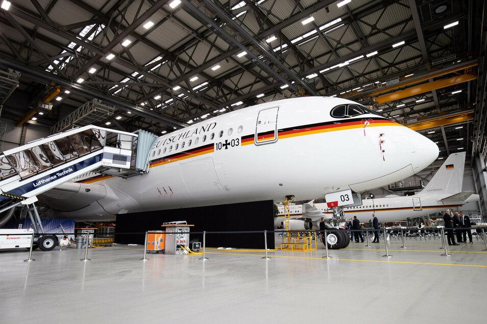 Der erste Langstrecken-Airbus A350 wird einer von dreien sein, die Regierungsmitglieder weltweit zu Terminen und Treffen bringen.