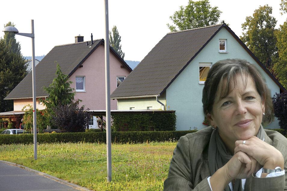 Weil Bauland rar ist, sind auch alte DDR-Einfamilienhäuser stark gefragt, weiß die Löbauer Immobilienmaklerin Elvira Juhl.