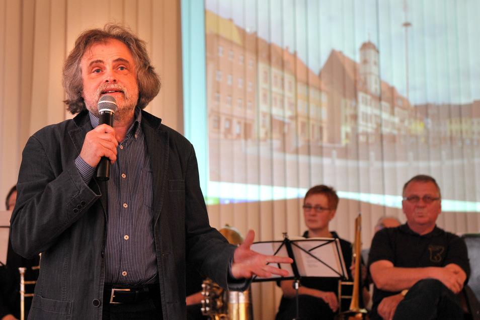 Steffen Delang wurde ausgezeichnet, weil er sich um die historische Bausubstanz verdient gemacht hat.