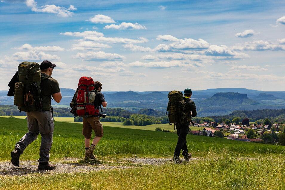 Die Sächsische Schweiz war 2020 das beliebteste Reiseziel in Sachsen.