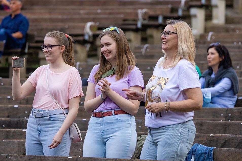 Vor allem weibliche Fans feierten Milow beim Konzert in Dresden.