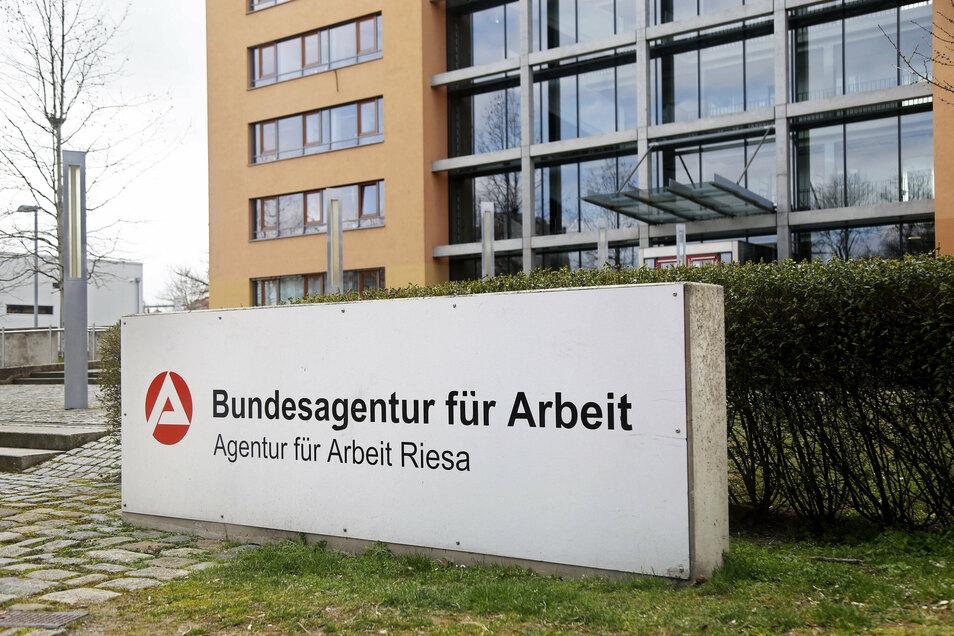 Die Bundesagentur für Arbeit - hier der Sitz in Riesa -