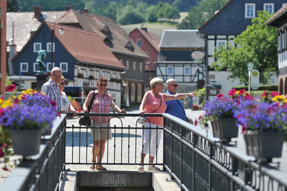 Waltersdorf gehört zu den Touristenmagneten im Zittauer Gebirge - und nun auch wieder zur TGG.