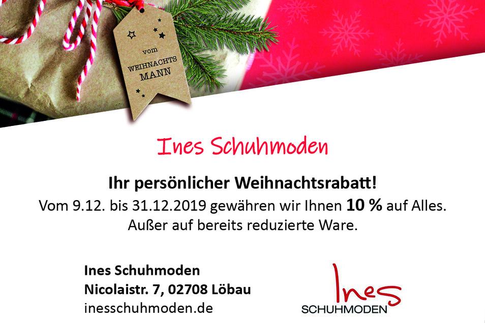 Ines Schuhmoden, Nicolaistr. 7, 02708 Löbau