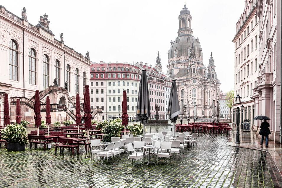 Der Mai ist derzeit auch in Dresden kein Wonnemonat.