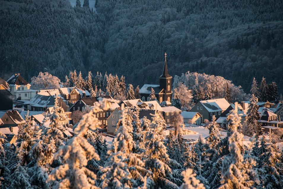 Weihnachtsstimmung in Masserberg.