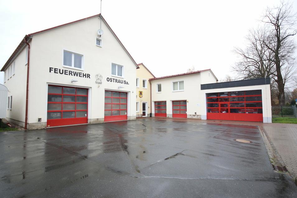 Im Ostrauer Feuerwehrgerätehaus soll die ortsfeste Befehlsstelle eingerichtet werden.