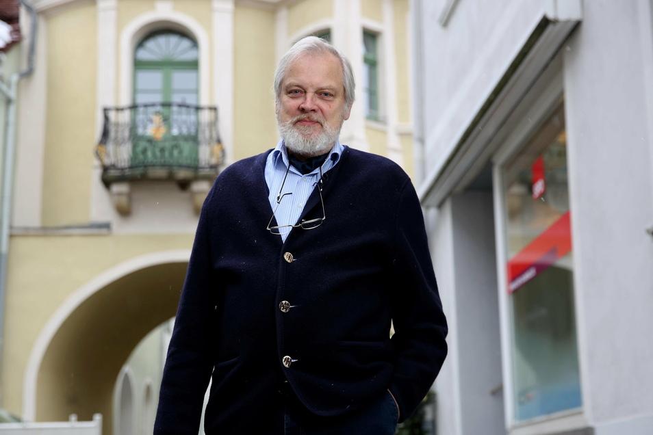 Stefan Reimann ist der Vorsitzende des Vereines zur Förderung politischer Bildung in Kamenz.