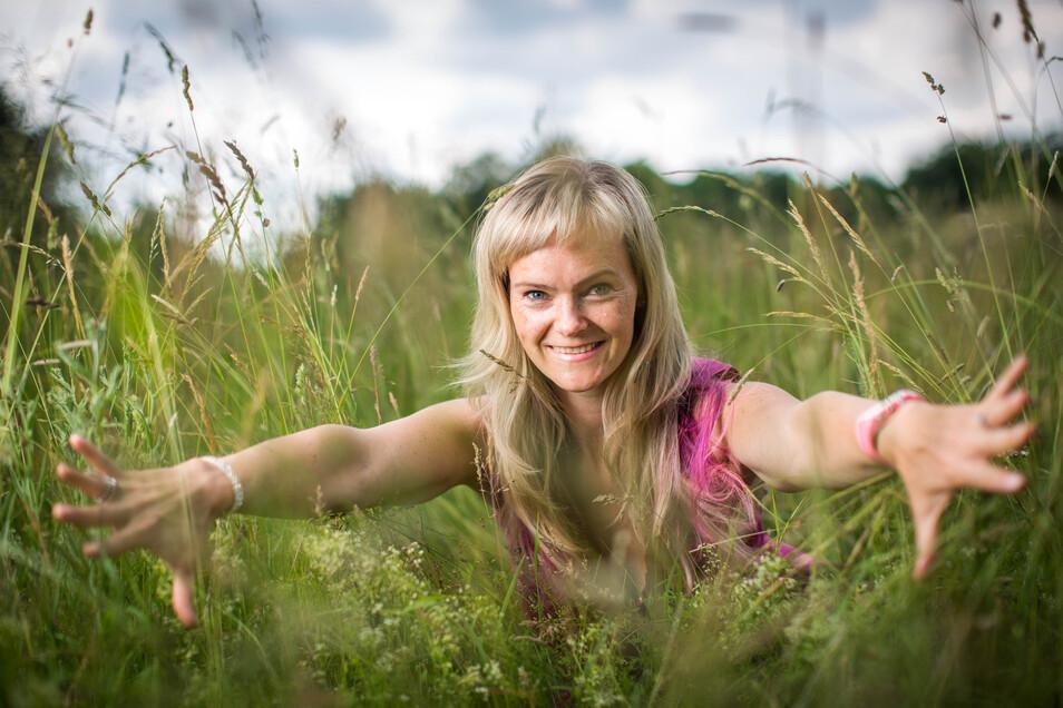 Keine Frau für eine Schublade: Julia Klesse lebt das Leben mit allen Sinnen.