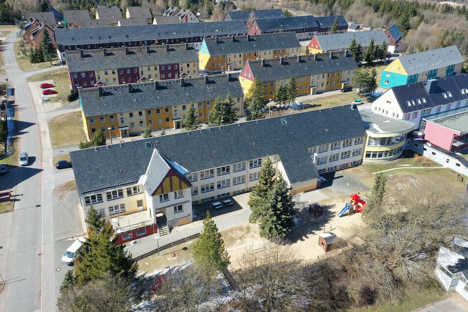Der Kindergarten in Altenberg hat weiterhin geöffnet.