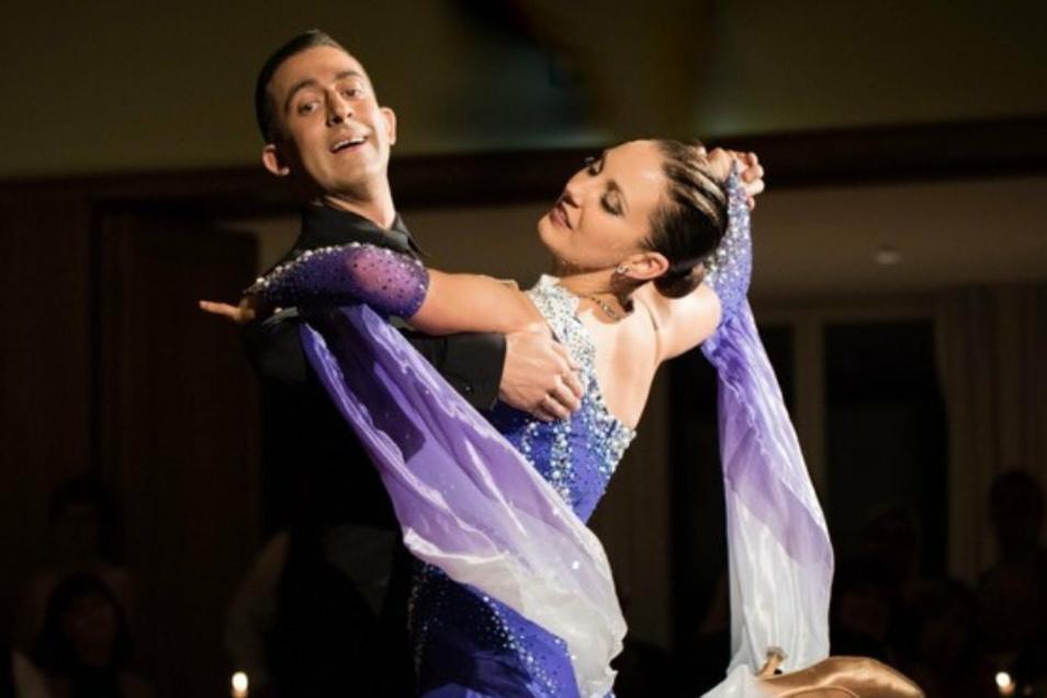 Jenny und Jonatan fanden über den Tanz auch privat zueinander. Seit 17. Juli sind die Wahl-Meißner verheiratet.