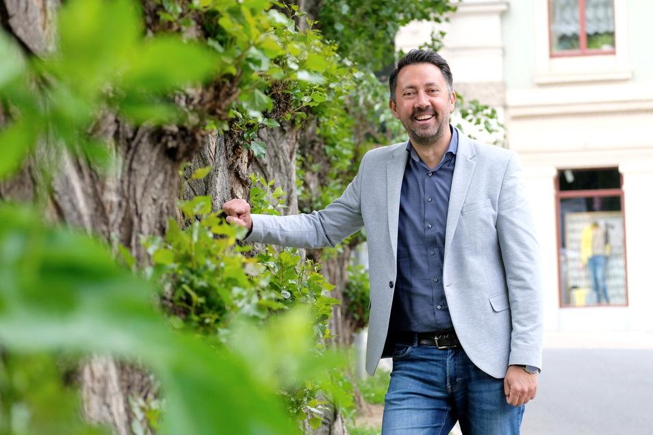Christian Friedel ist seit 2015 Amtsleiter für Stadtmarketing, Tourismus und Kultur im Meißner Rathaus.