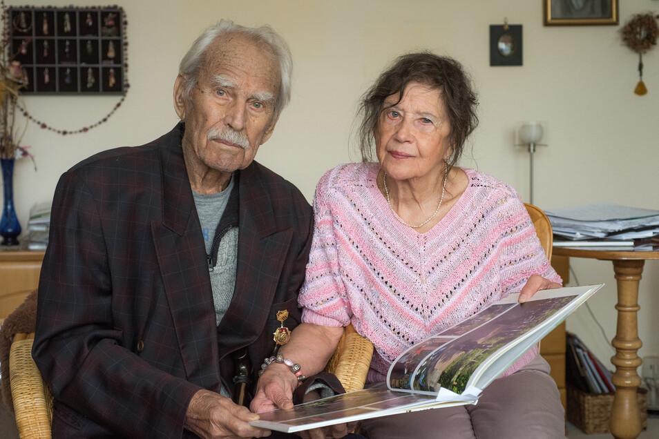 Hannelore Danders und Viktor Maximow lernten sich in Dresden kennen.