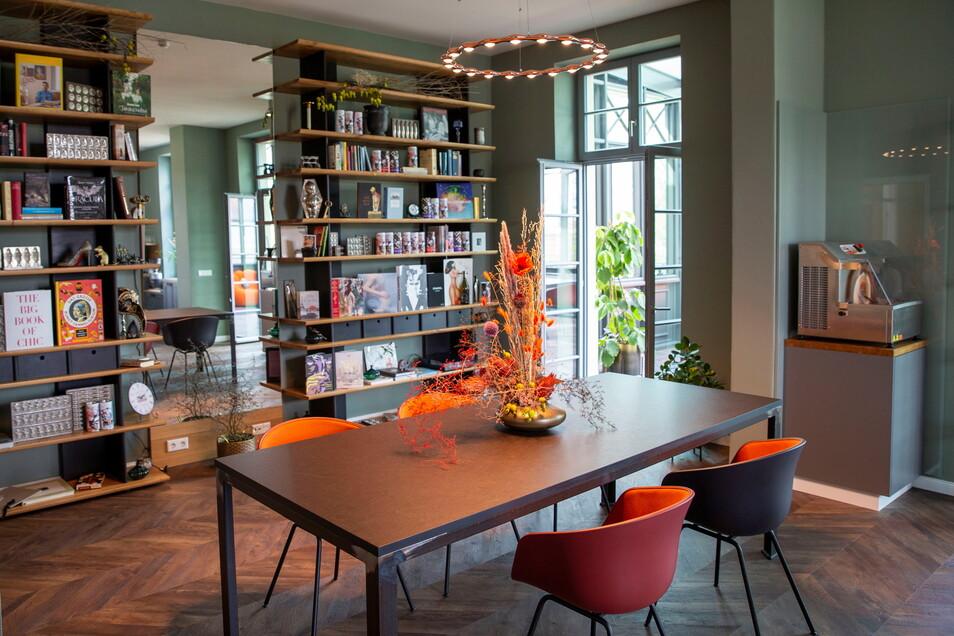 In diesem Raum finden die Schokoladen-Seminare statt, später sollen hier auch Kochkurse angeboten werden.