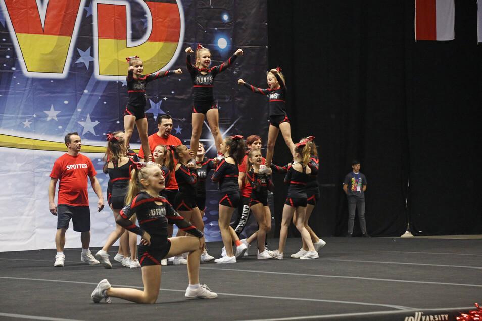 Zuletzt fanden im Februar in Riesa die Cheerleading Regionalmeisterschaften Ost statt.