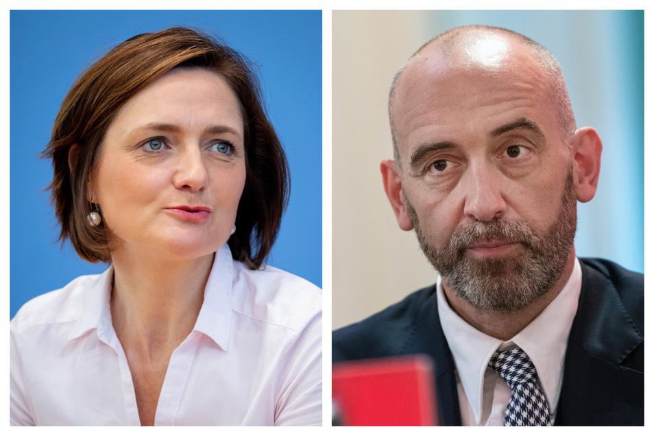 Simone Lange und Alexander Ahrens kandidieren für den SPD-Vorsitz.