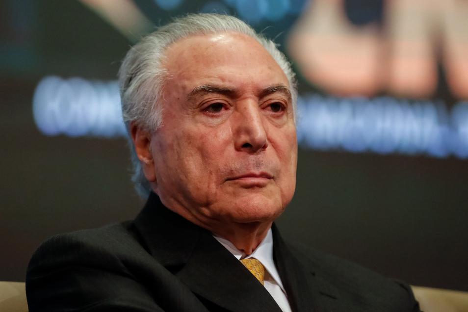 Der brasilianische Ex-Präsident Michel Temer muss wieder ins Gefängnis.
