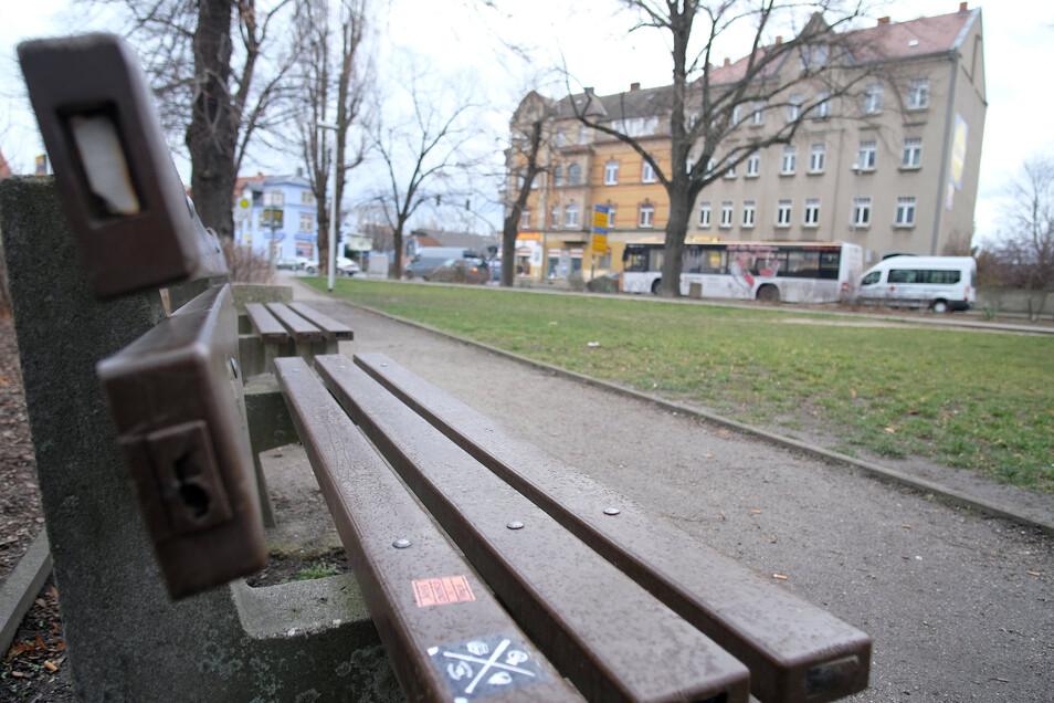 Der Beyerleinplatz in Meißen ist eine neuralgische Stelle im Verkehr der Stadt. Muss seine Entlastung aus Geldmangel wegfallen? FDP-Politiker befürchten das.