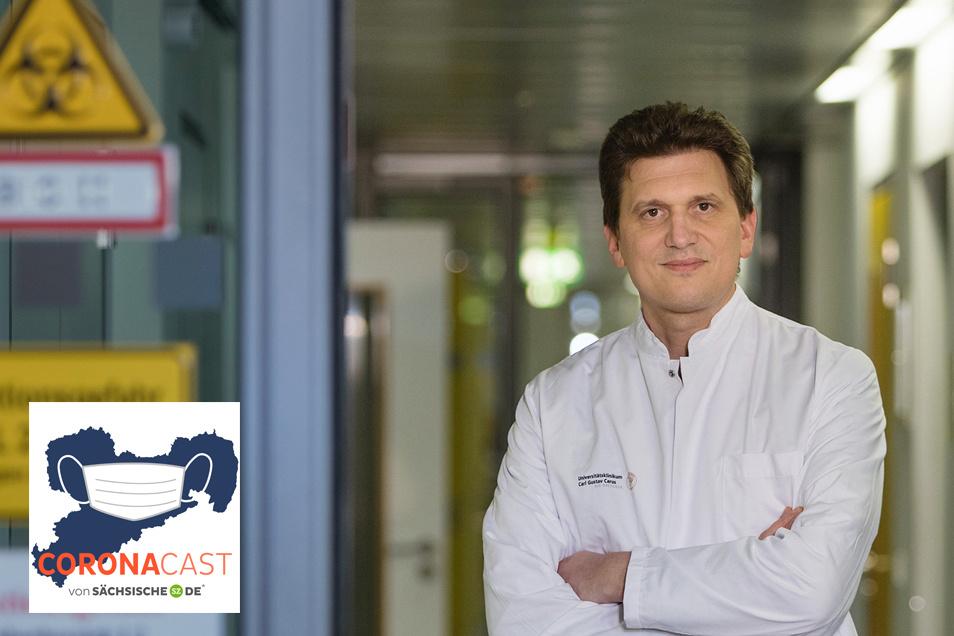 Alexander Dalpke leitet das Institut Medizinische Mikrobiologie und Virologie an der TU Dresden. Im CoronaCast spricht er darüber, wie sich die Lage im Sommer entwickeln könnte.