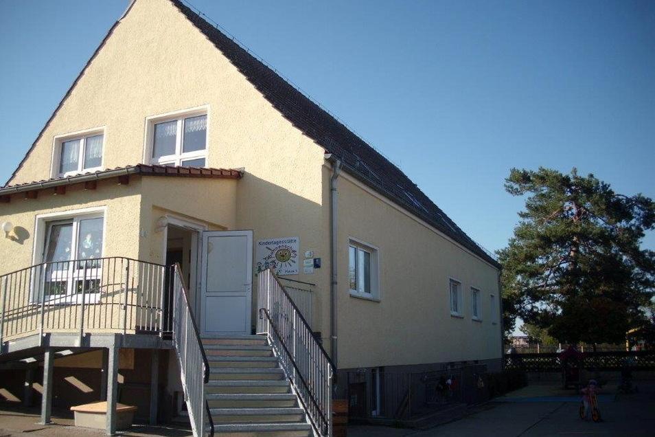 """Die Kindereinrichtung """"Sonnenschein"""" in Prausitz hat bald ausgedient. Die Gemeinde Hirschstein will eine neue bauen. Am 5. Juli soll es losgehen."""