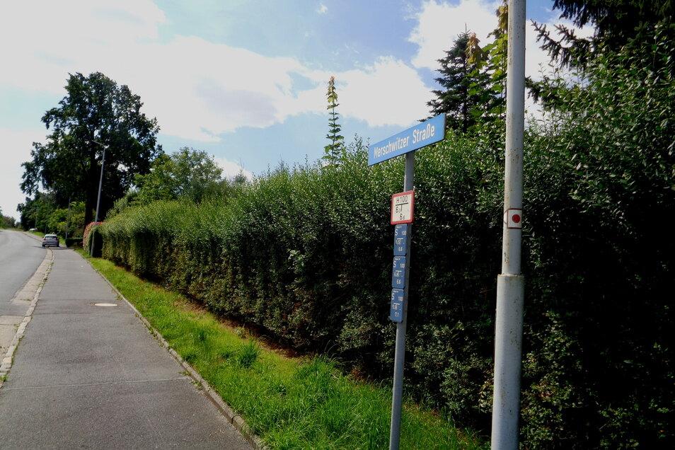 Wird nächstes Jahr erneut zur Baustelle: die Merschwitzer Straße.