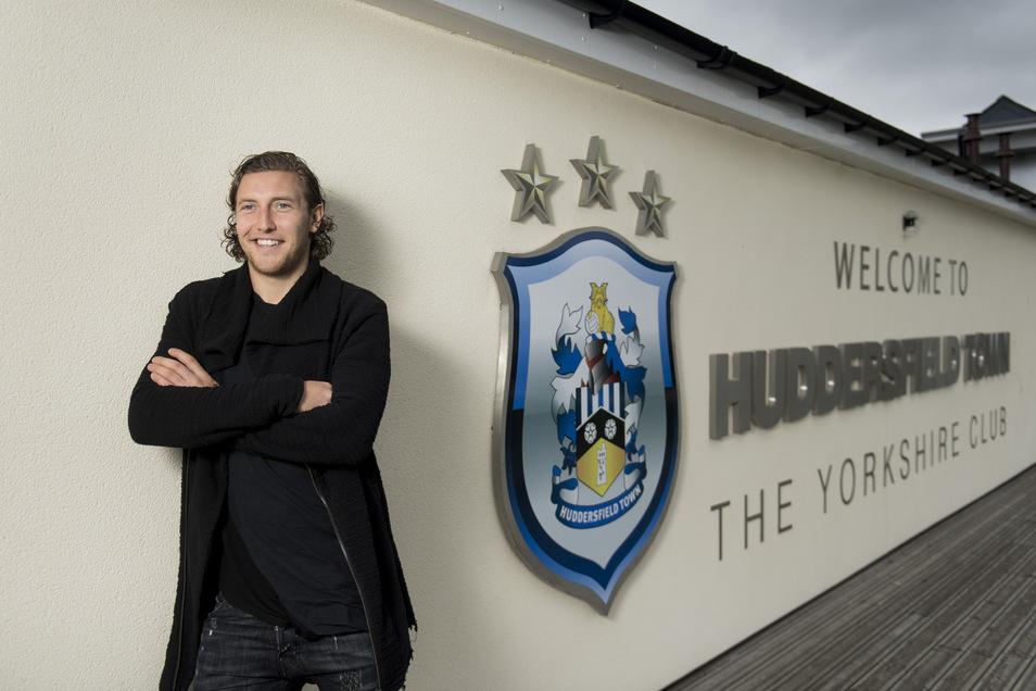 Im Sommer 2016 wechselte Michael Hefele von Dynamo nach England zu Huddersfield Town.