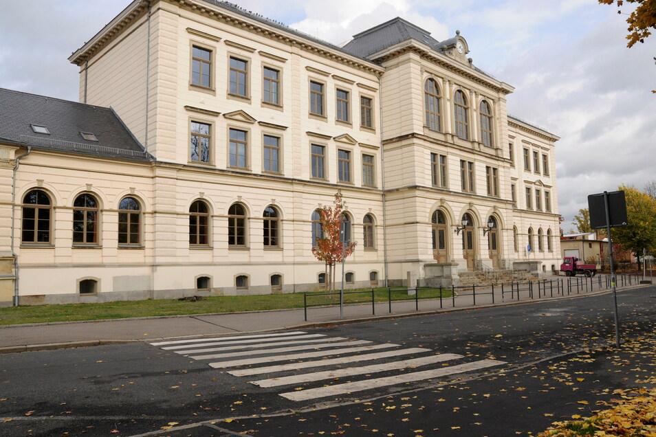 Das Großenhainer Werner-von-Siemens-Gymnasium.