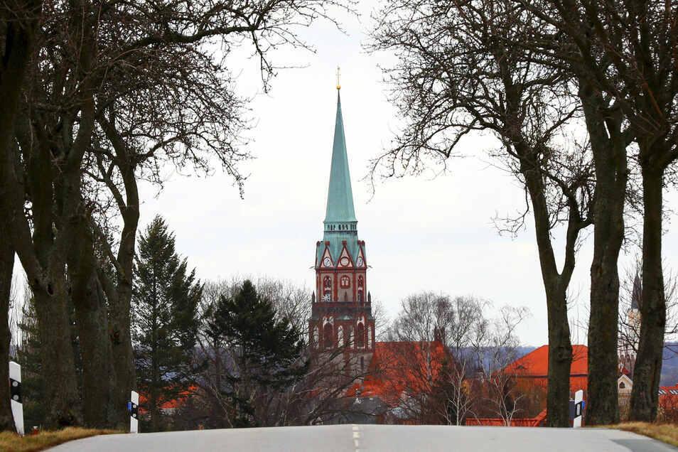 Blick auf die Nikolaikirche.