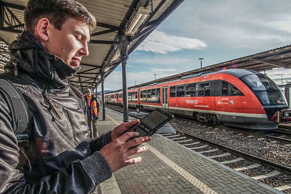Wer mit einem ZVON-Zug fahren möchte, kann Tickets dafür jetzt auch bei der Bahn im Internet oder via Bahn-App kaufen.
