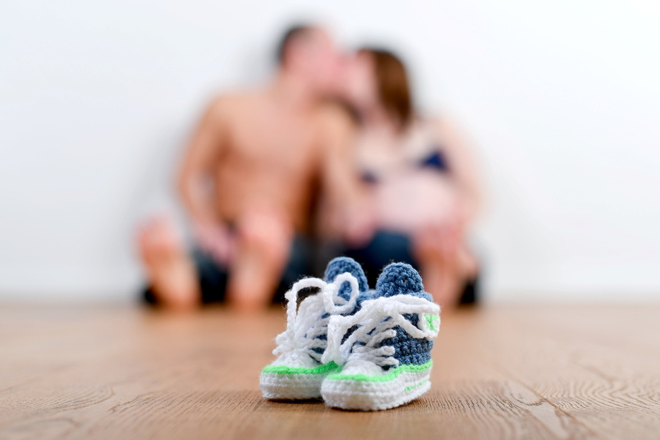 In wilder Ehe – und freudiger Erwartung.