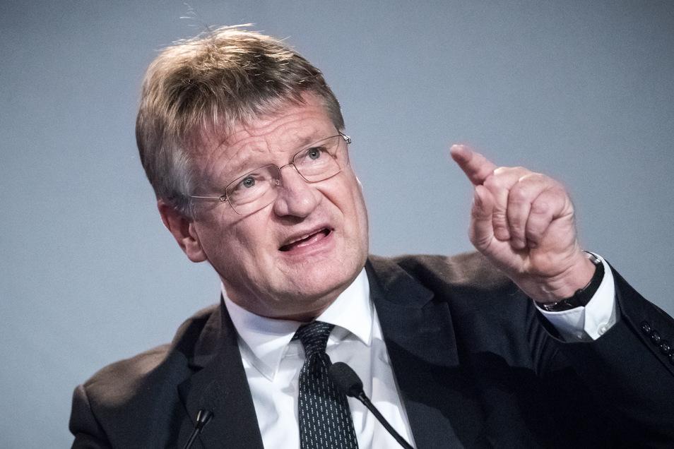 Jörg Meuthen ist einer der beiden Bundessprecher der AfD. Der 58-Jährige ist Mitglied im Europaparlament.