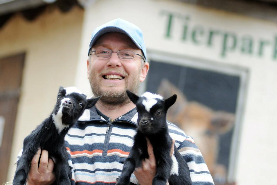 """""""Ich hatte gehofft, dass die Stadtverwaltung auf mich zukommt"""": Noch-Tierpark-Chef Heiko Drechsler."""