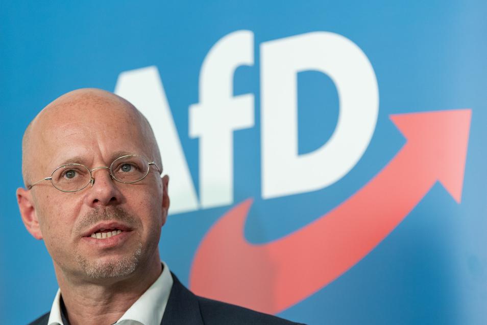 Um ihn geht der Streit in der AfD: Andreas Kalbitz.