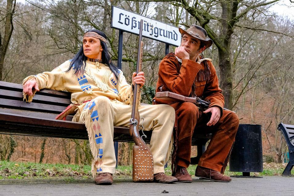 Die Schauspieler der Landesbühnen Sachsen können erst 2021 im Lößnitzgrund spielen.