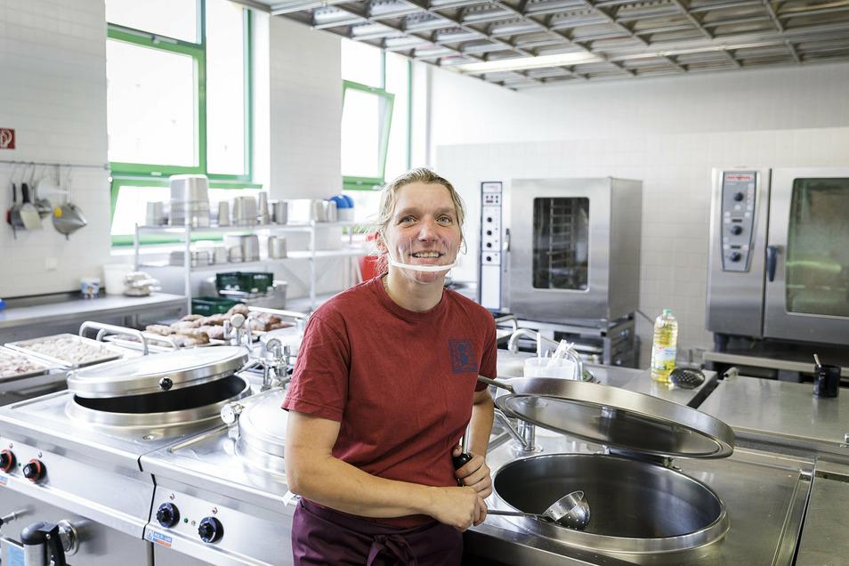 Judith Geißler und ihren Mann kennt man von der Rathauskantine. Jetzt führen sie auch die BSZ-Küche.