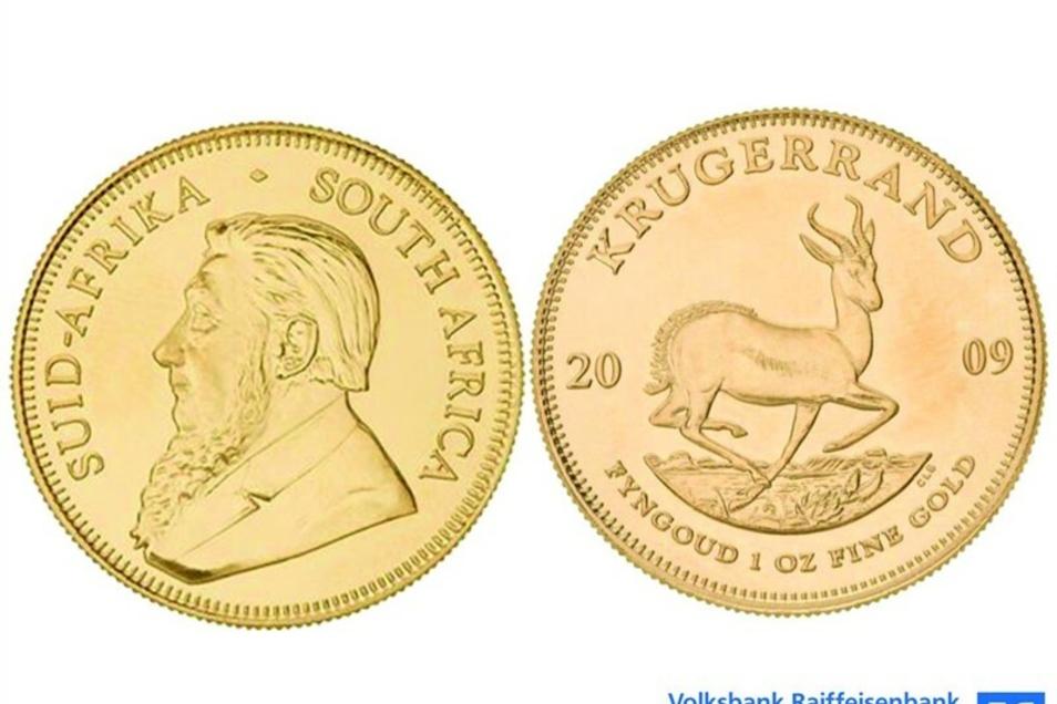 Krügerrand 1/2 Unze Goldmünze   ab 240 € statt 800 €