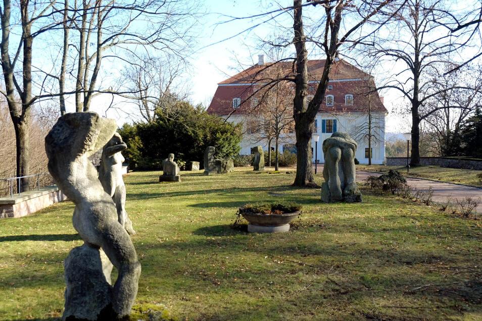 Die historischen Parkanlagen in Siebeneichen gehören zu den bedeutsamen innerstädtischen Grün- und Freiflächen für die Naherholung in Meißen.