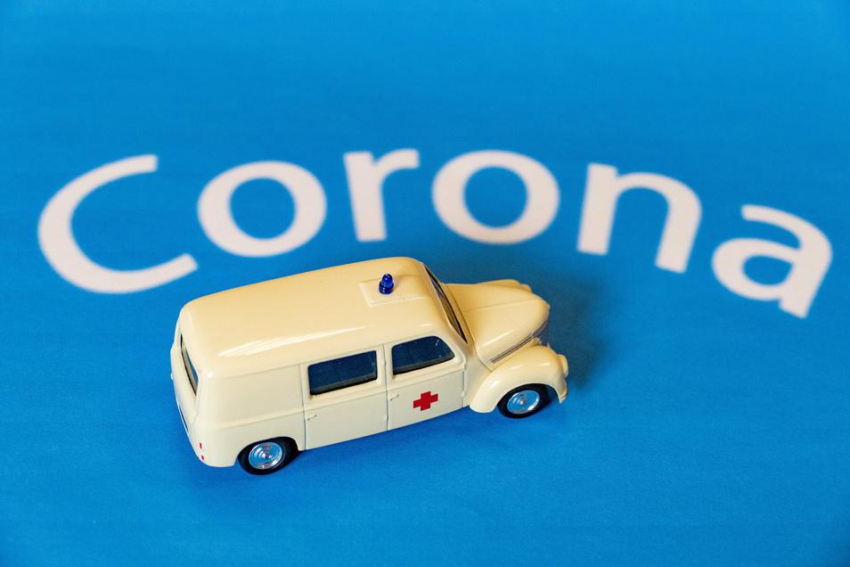 Die Corona-Ambulanz des Elblandklinikums Meißen ist für Rückkehrer zuständig.