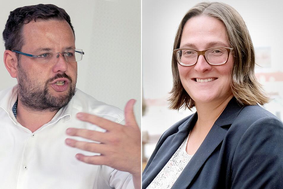 Eine aktuelle Prognose räumt Barbara Lenk (AfD) die etwas besseren Chancen ein, direkt in den Bundestag einzuziehen. Bis zur Wahl kann sich das noch drehen, denn der Abstand sei gering.