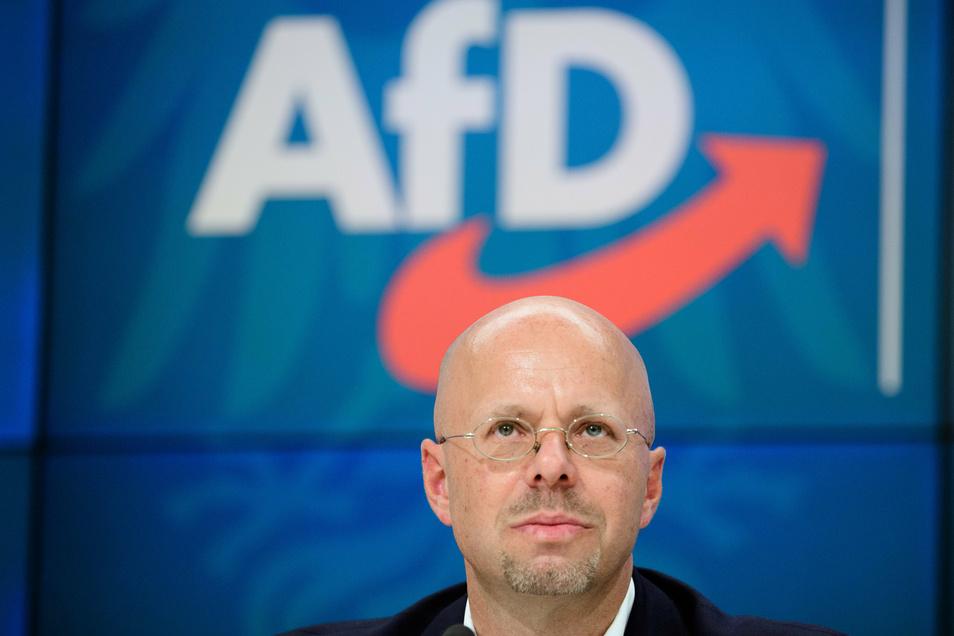 Andreas Kalbitz ist endgültig als Fraktionsvorsitzender der Brandenburger AfD zurückgetreten.