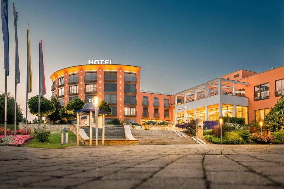 Diese Vier-Sterne-Anlage in Heiligenstadt ist für neun Tage Dynamos Mannschaftshotel.