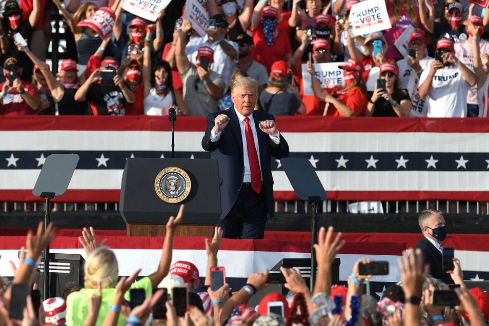 Für Trump geht es in Florida um alles, für Biden nicht.
