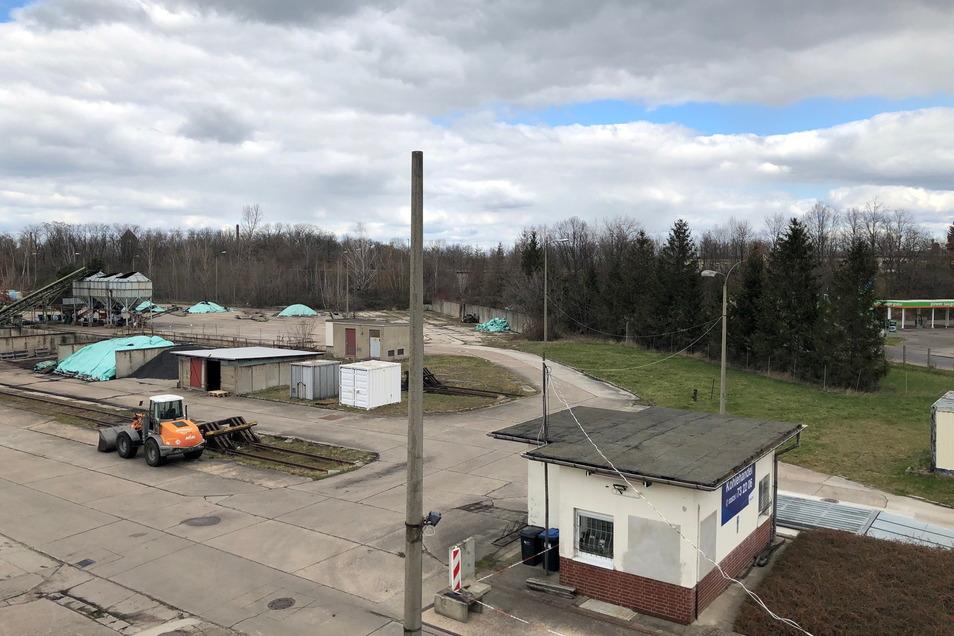So sah der frühere Kohlehandel aus, als die Stadtwerke Riesa ihn 2020 übernahmen.