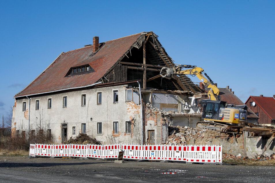 Die Teichstraße 10 in Schlegel wird abgerissen.