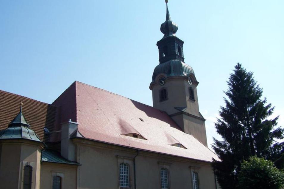 Die Kirche von Großröhrsdorf.
