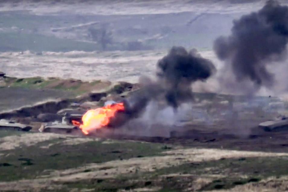 Der Konflikt zwischen Armenien und Aserbaidschan eskaliert.